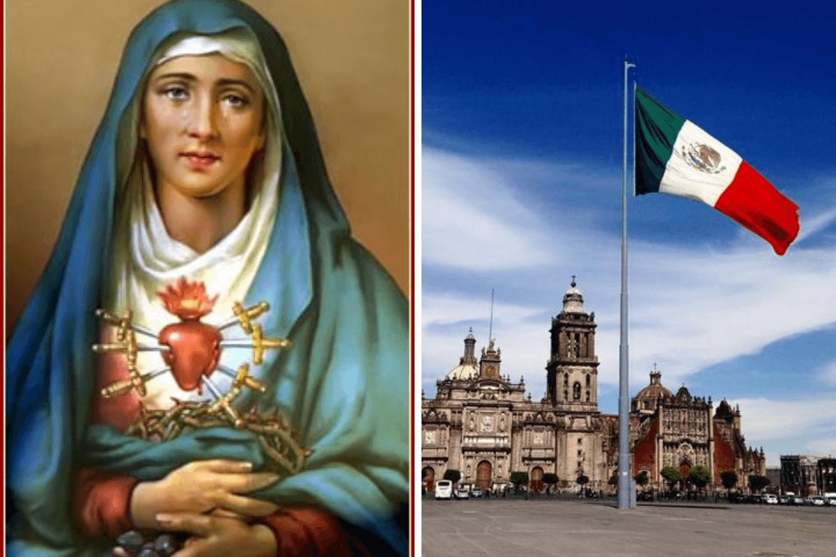 La relación de la Virgen de Dolores con la Independencia de México.
