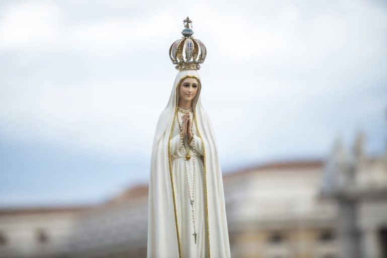 La Virgen de Fátima. Foto: Archivo