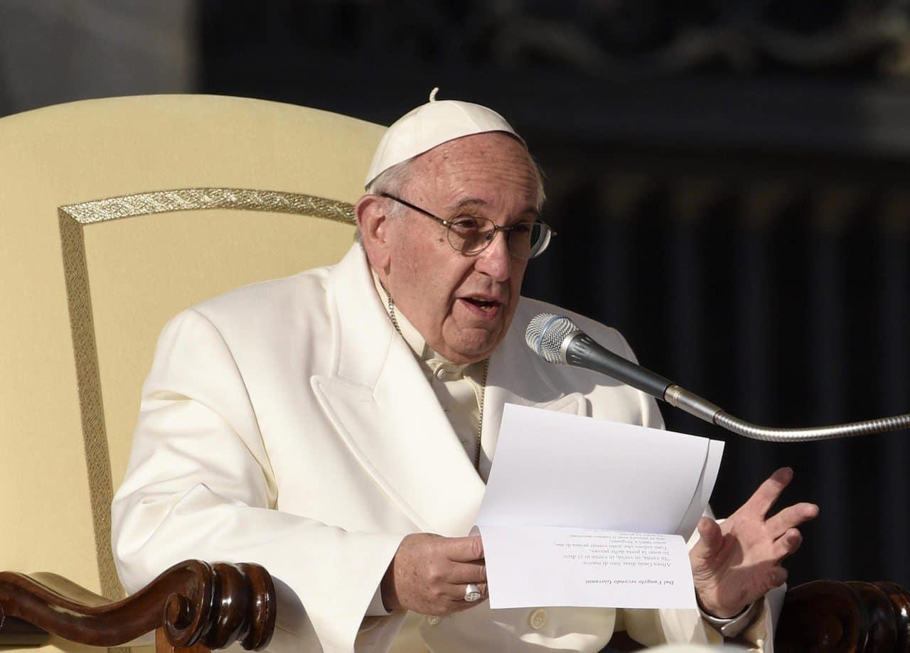 """Papa Francisco: """"Que los cristianos seamos de nuevo una única familia"""""""