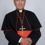 Fallece Cardenal que diseñó escudo de Benedicto XVI: El Papa envía su pésame