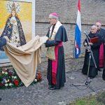 Entronizan mosaico de la Virgen de Caacupé, Patrona de Paraguay, en los Jardines Vaticanos
