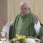 """El Papa pide no perder la capacidad de sentirse amado porque entonces """"se pierde todo"""""""