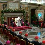 El Papa explica a la Curia Romana cómo debe ser la Navidad
