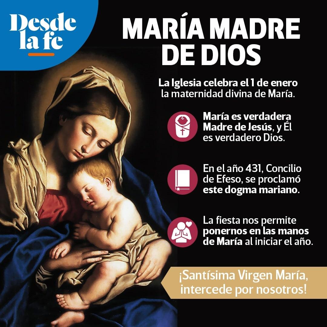 Fiesta de Santa María, Madre de Dios.
