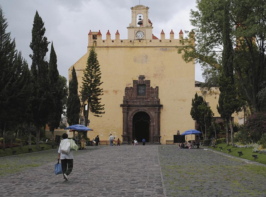 La Parroquia de San Bernardino de Siena. Foto: Archivo