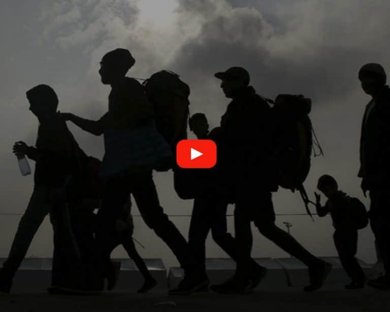 migrantes, exodo migrante, caravana migrante
