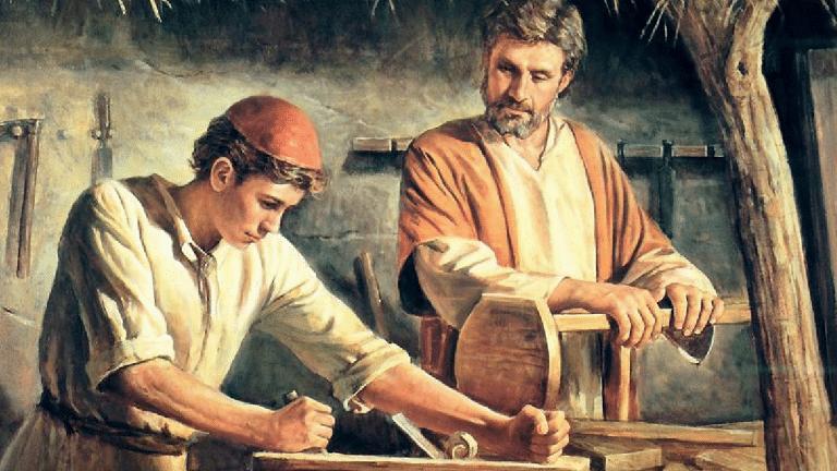 San José y Jesús.