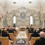 El Papa asiste a la cuarta predicación de Cuaresma