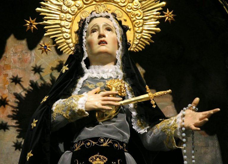 Nuestra Señora de los Dolores. Foto: Archivo