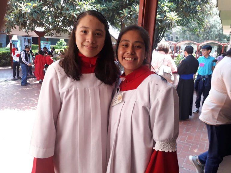 Monaguillas de la Arquidiócesis Primada de México. Foto: Desde la fe.