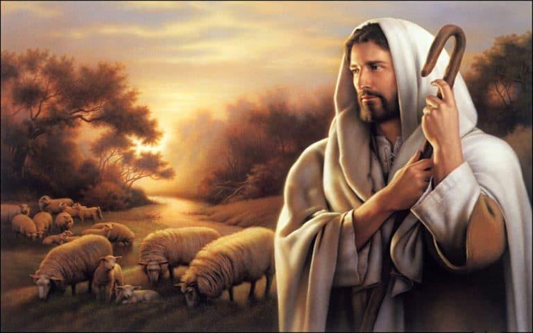 Jesús, el Buen Pastor.