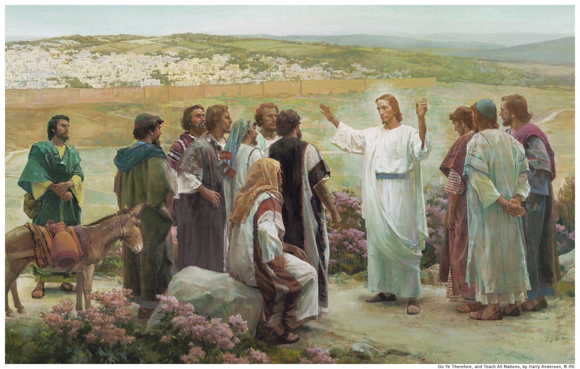 """Lectio Divina: """"Bauticen en el nombre del Padre  y del Hijo y del Espíritu Santo"""""""