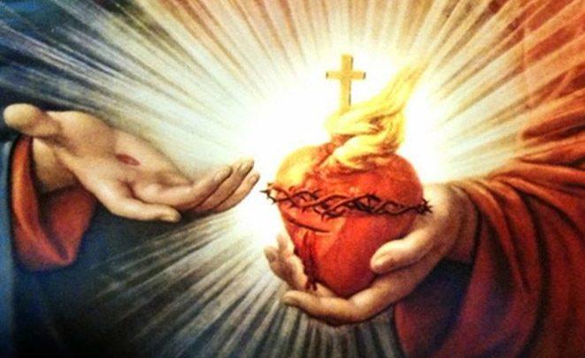 El Sagrado Corazón de Jesús.