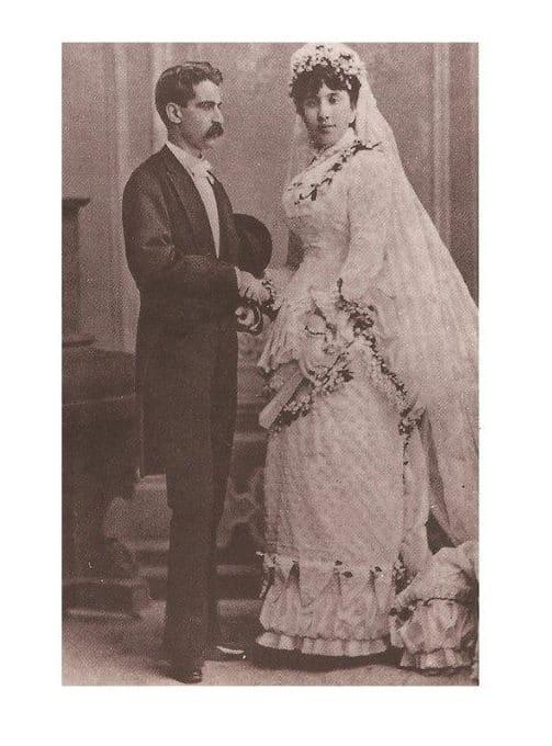 Concepción Cabrera con Francisco Armida. Foto: Vatican News