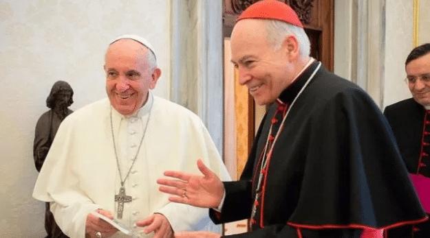 Cardenal Aguiar, Papa Francisco