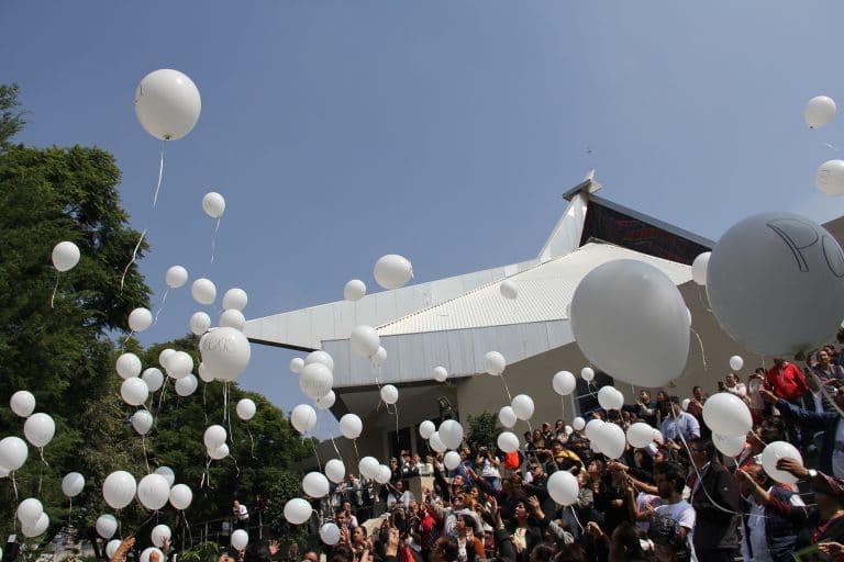 Colegio Rébsamen misa
