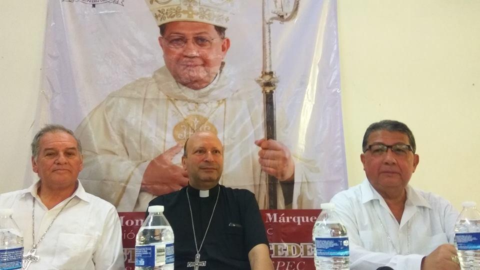 Mons. Crispín Ojeda tomó posesión de la Diócesis de Tehuantepec