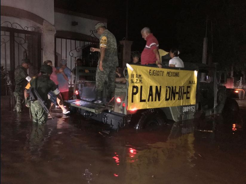 Cáritas Mexicana recibirá donaciones para afectados por lluvias en Sinaloa