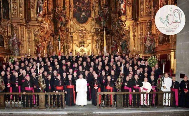 Papa Francisco, Iglesia en México
