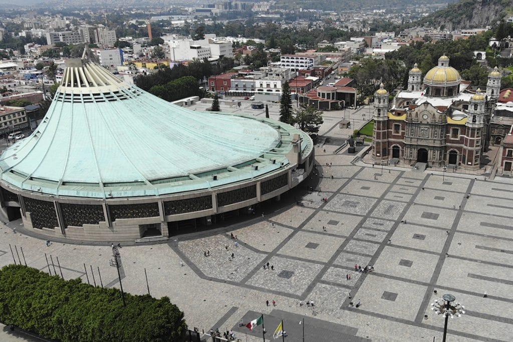 La Basílica de Guadalupe es el santuario mariano más visitado del mundo.