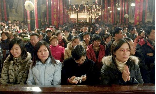 China, católicos