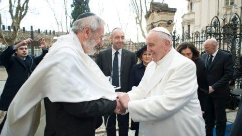 Saludo del Papa a la Comunidad Judía de Roma por la fiesta de Rosh Hashaná