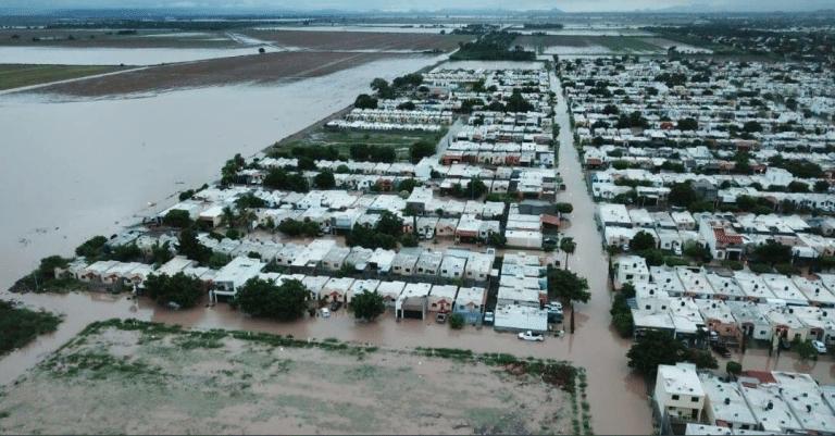 Inundaciones Sinaloa