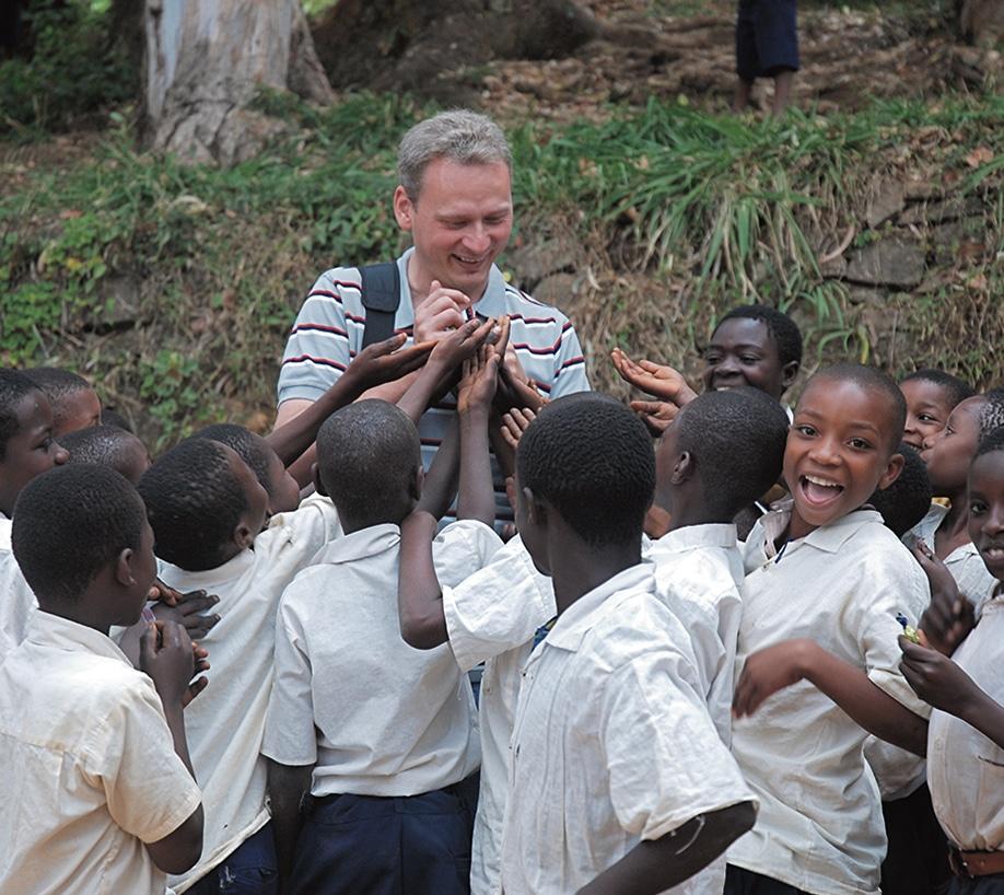El misionero polaco que ha recorrido 70 países