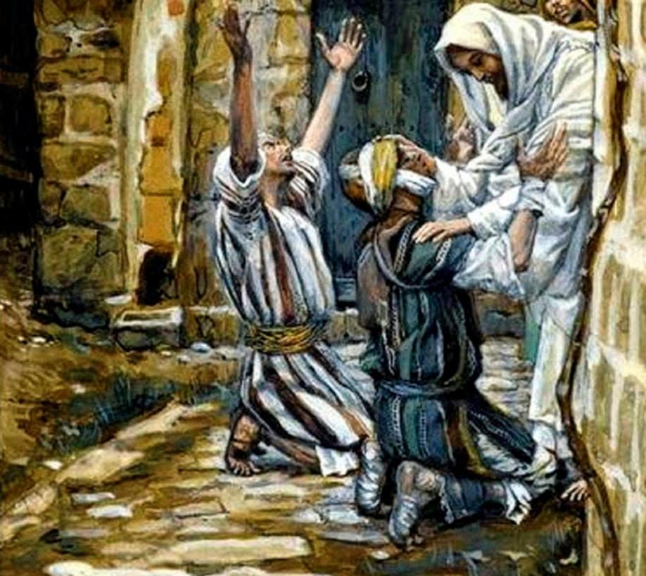 """Cultura Bíblica: """"Ánimo, levántate"""""""