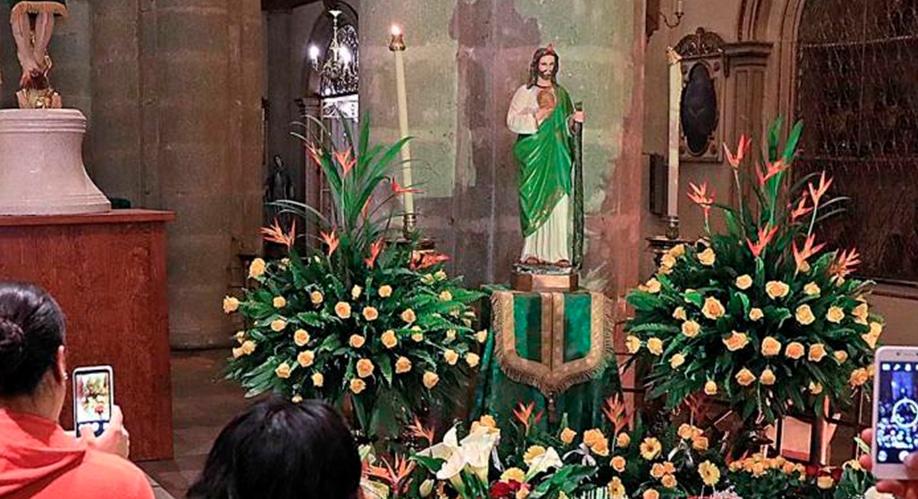 """""""San Judas Tadeo no es Dios"""""""