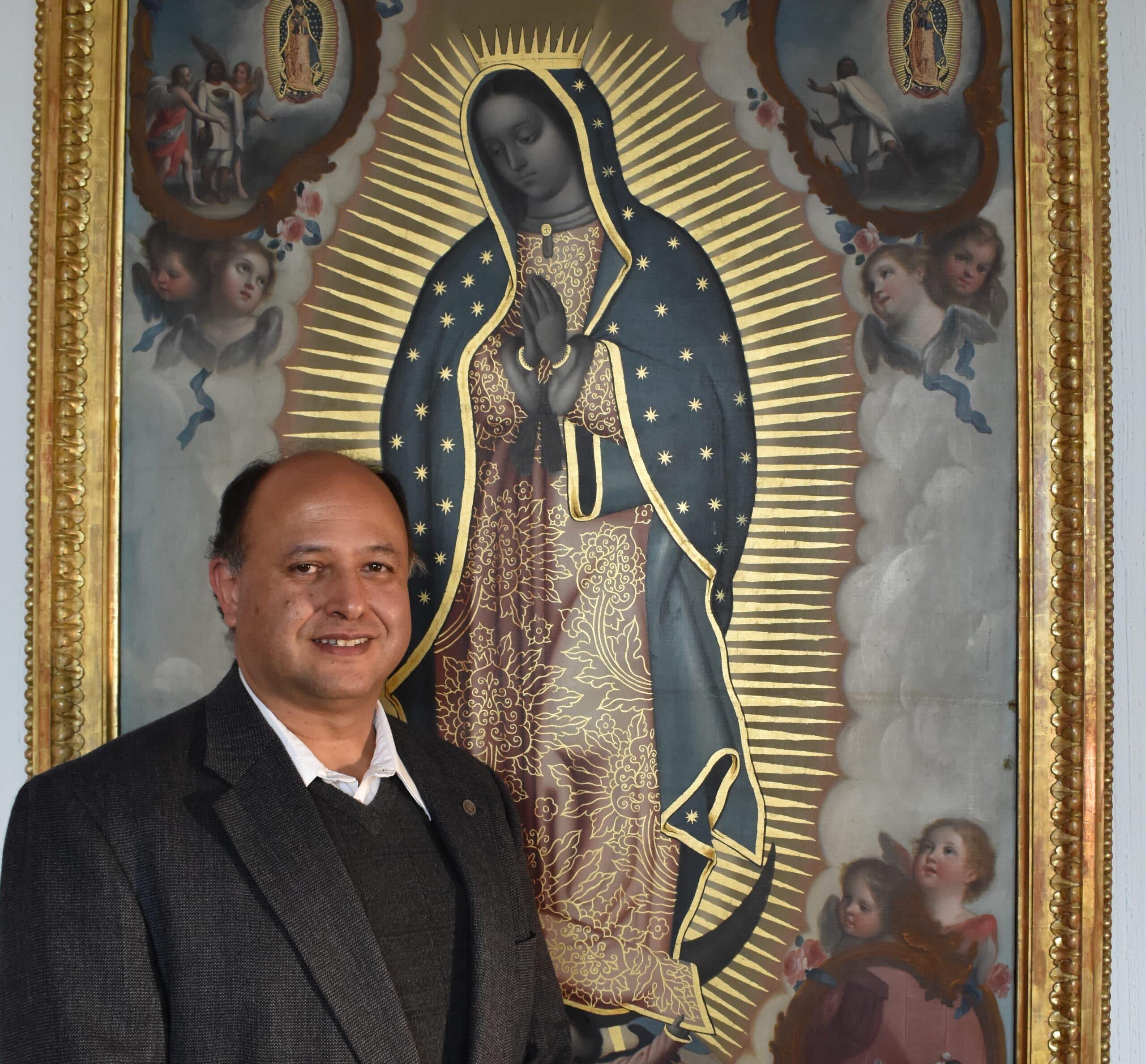 El niño que le rezaba a la Virgen y hoy es rector de la Basílica