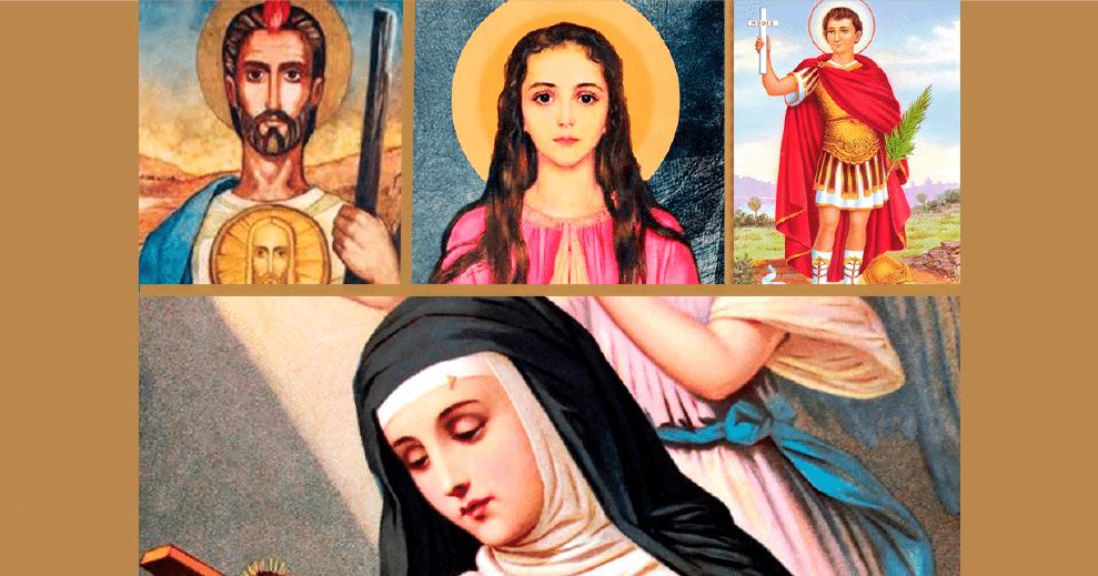 Cuatro santos para las causas difíciles