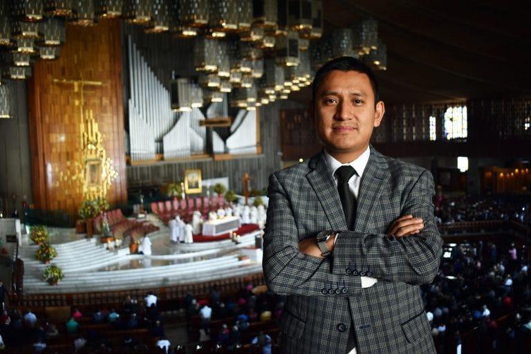 organista Benjamín Paredes, Virgen de Guadalupe, Basílica de Guadalupe, Virgen de Guadalupe
