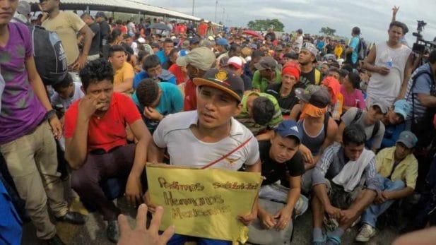 caravana migrante, migrantes