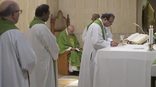 Papa en Santa Marta: paz es camino de humildad, dulzura y magnanimidad