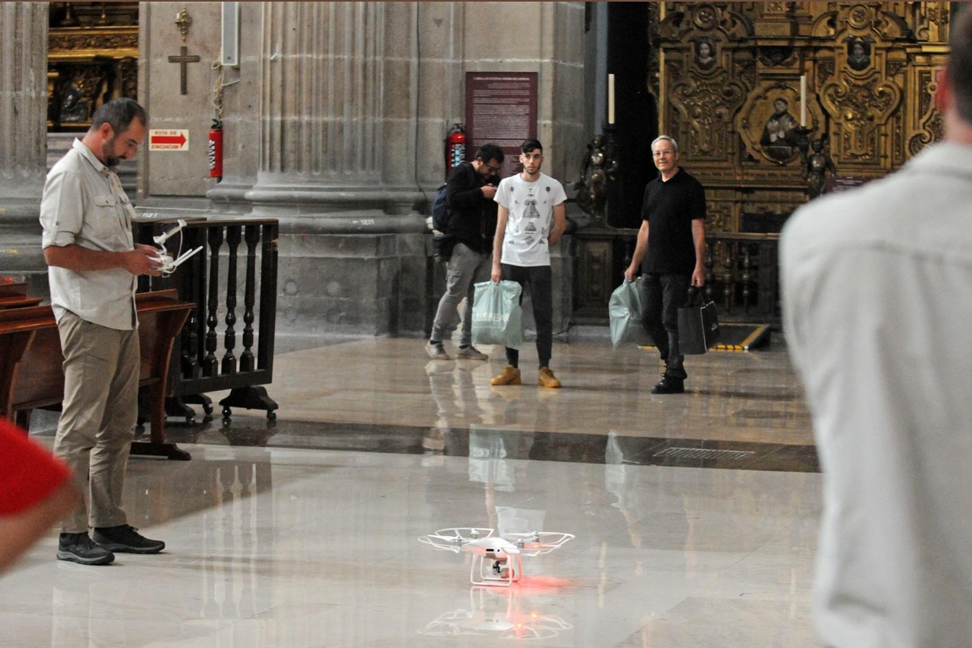 Buscan preservar la Catedral Metropolitana con tecnología de punta