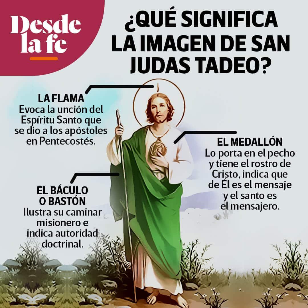 Quién Fue San Judas Tadeo Esta Es Su Verdadera Historia Desde La Fe