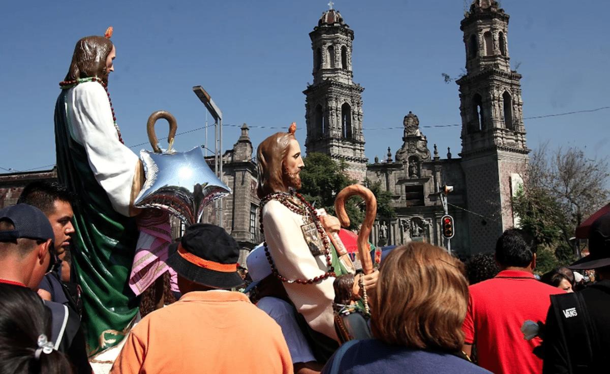 Fiesta de San Judas Tadeo en San Hipólito.