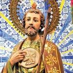 La Misa a san Judas Tadeo en San Hipólito se realizó sin fieles