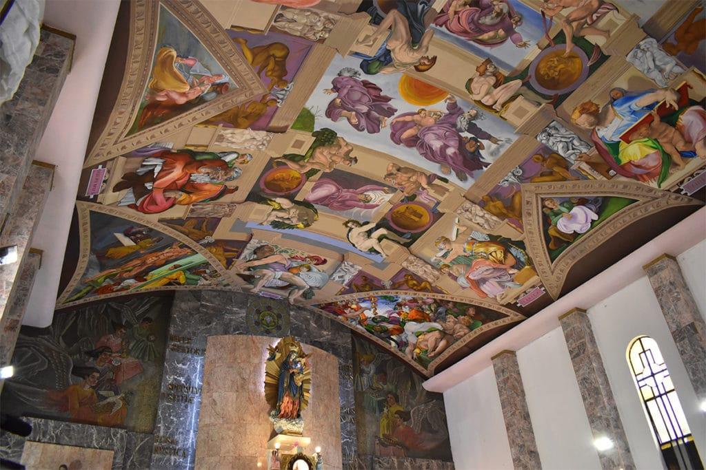 Desde su apertura este año, la réplica de la Capilla Sixtina ha recibido a nacionales y extranjeros.
