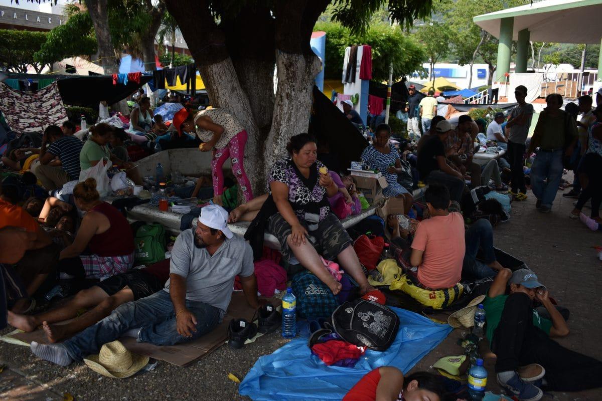 Así dio inicio el éxodo de migrantes centroamericanos