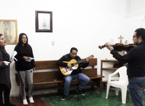 Música que abre camino a la fe, en Nuestra Señora de las Nieves