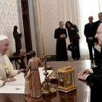 El Papa alienta al presidente de Israel a dialogar con Palestina por la paz