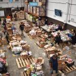 El banco de alimentos de la Iglesia que da comida a los necesitados