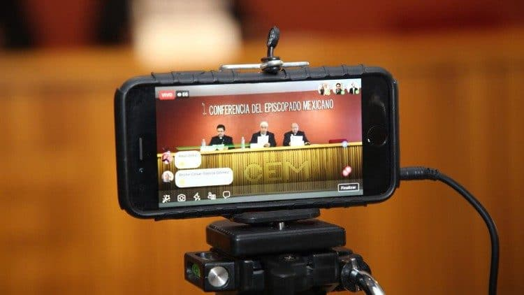 Los obispos de la Conferencia del Episcopado Mexicano.