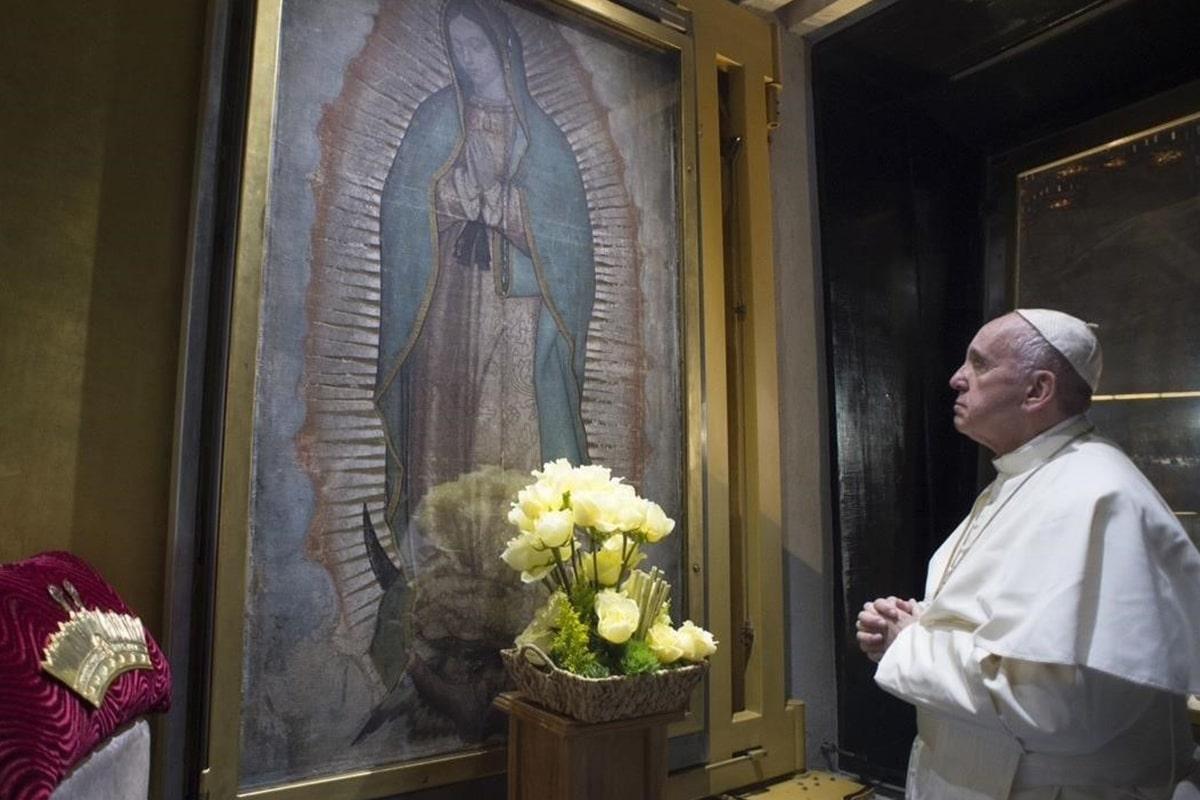 El Papa Francisco es devoto de la Virgen de Guadalupe