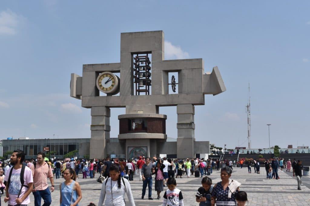 reloj astronómico, carillón, Basílica de Guadalupe