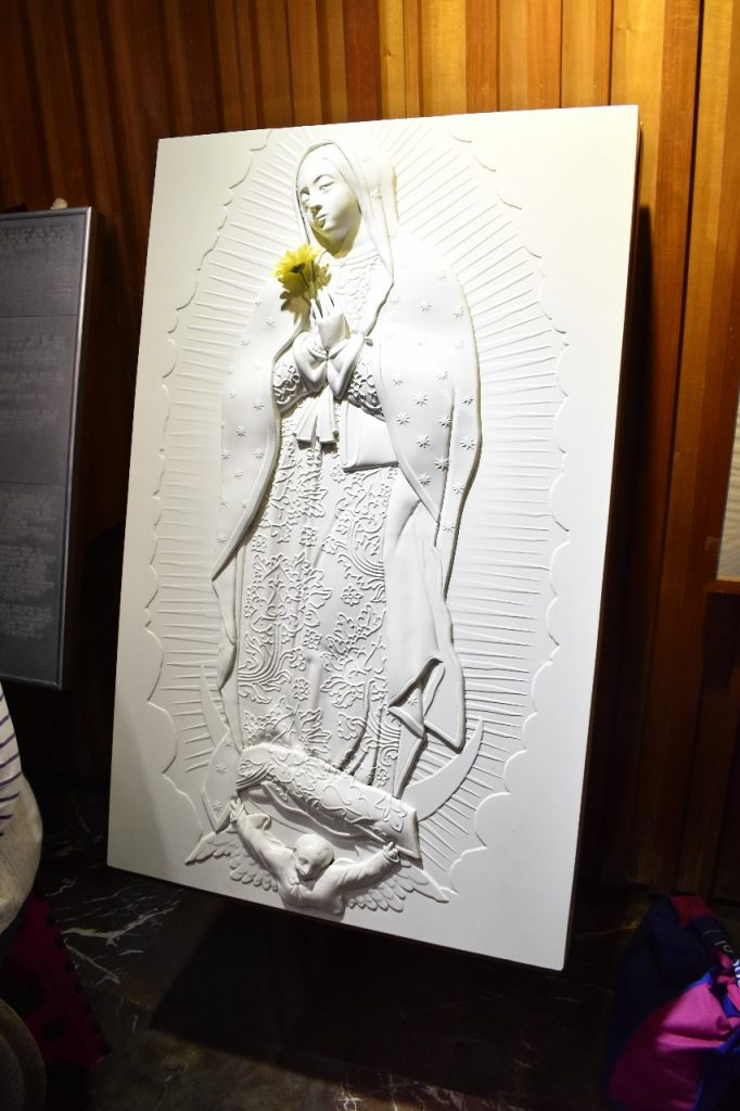 virgen para invidentes, Basílica de Guadalupe