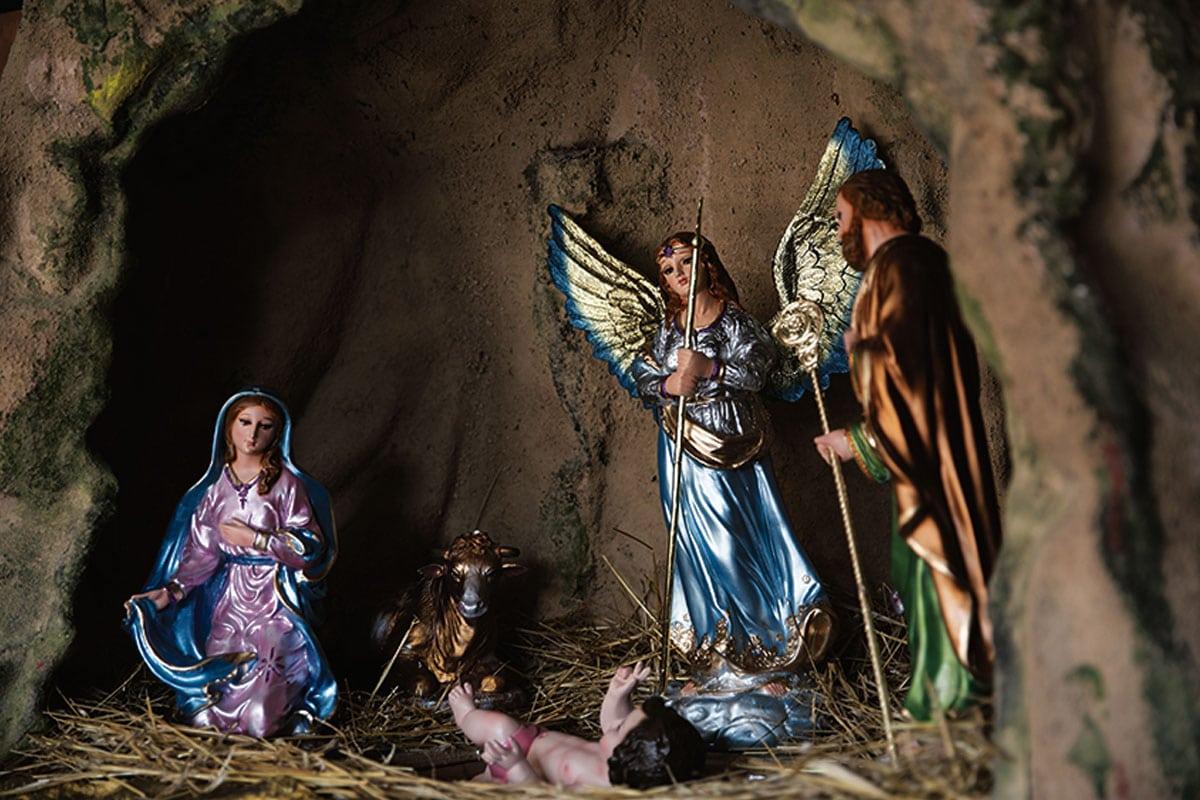 El Nacimiento Belén Mágico de la Villa de Guadalupe. Foto: María Langarica