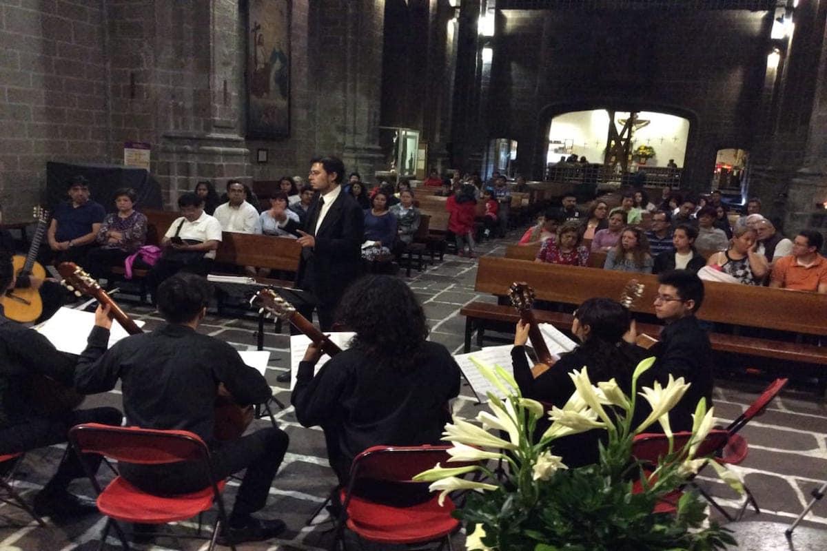 Los conciertos se llevan a cabo una vez al mes, con receso en enero.